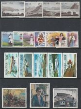 Faroe Islands (1985 Year Set) - Catalog Value $38.55