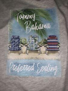 2XLT Tommy Bahama NWT Preferred Seating Oatmeal Heather Men's Tee $55