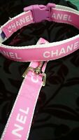 """Dog Collar 10"""" - 14"""" neck size.  FREE FABRIC DESIGN made in England"""