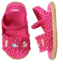 Gymboree Baby Seahorse 04 Pink Fish Sandals Shoes Beach Octopus