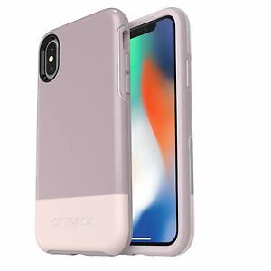 OtterBox Symmetry Series Case for iPhone Xs & iPhone X Skinny Dip Easy Open Box
