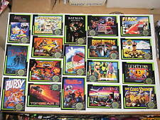 1993 TEAM BLOCKBUSTER VIDEO GAMING 50 CARD SET! RARE! MARVEL! X-MEN STAR WARS!