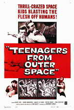 TEENAGERS FROM OUTER SPACE Movie POSTER 27x40 Tom Graeff Dawn Anderson Harvey B.