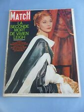 PARIS MATCH N° 954 du 22 juillet 1967 VIVIEN LEIGH SIR LAURENCE OLIVIER