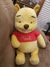 The Disney Store Winnie The Pooh Plush Plush Stuffed Animal 80th anniversary