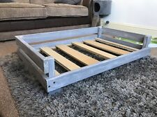 Wooden Pet Crate Bed Bespoke Cat Dog Beds