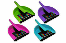 """""""Brights"""" Handheld Dustpan & Brush Set for Cleaning, Sweeping & Tidying"""