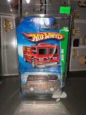 Hot Wheels Super TREASURE HUNT FIRE-EATER - Real Riders - Protector