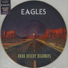 Eagles-DARK DESERT cosiddetto PICTURE DISC (vinile LP - 2000-EU-original)
