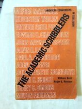 The Academic Scribblers by William Breit Roger Ranson