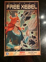 """[IN HAND] """"FREE XEBEL"""" POSTER HAND-SIGNED BY DANIELLE PAIGE, LAMINATED"""