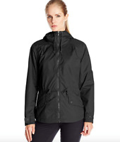 Columbia Womens Regretless Jacket XS-M-L Black Hooded Waterproof Rain Spring