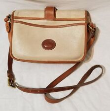 Vintage Dooney And Bourke All Weather Leather Crossbody Bag