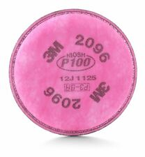 3M 54295 Particulate Filter 2096, P100 Respiratory (1 Pack - 2 Pads in Total)