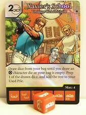 Dice Masters - 1x #116 Xavier's School Unique curriculum FOIL-x-men First CLAS