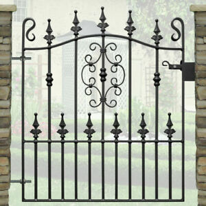 Wrought Iron Metal Gate/Gates-TOP QUALITY-to fit 2ft9 (840mm) opening -TYNE