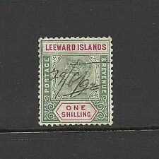 Used Victorian (1840-1901) Leeward Islands Stamps