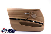 BMW 3 Series E90 E91 Front Left N/S Passenger Side Beige Door Card Trim Panel
