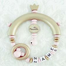 Greifling mit Namen ? Greifring Babyspielzeug ? Kleine Prinzessin