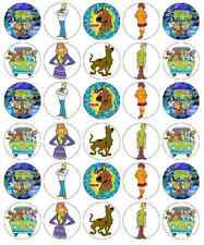 Scooby Doo Cupcake Toppers Edible Wafer Paper BUY 2 GET 3RD FREE