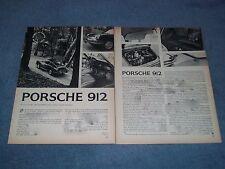 1967 Porsche 912 Vintage Road Test Info Article