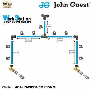 John Guest-JG-Work Station Drop Down Add-on Kit- 15mm Kit-Air Fittings001
