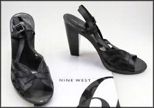 Nine West Women's Leather Open Toe Heels for Women