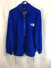 VTG The North Face Fleece Coat Lightweight Jacket Mens Blue Gore Tex Windstopper