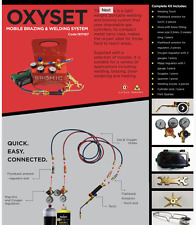 Easy to Carry  Oxy Set Mobile Brazing & Welding System  Oxygen Mapp 1811167
