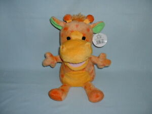 THE CUDDLE CREW Musical Nursery Rhyme GIRAFFE Hand Glove Puppet Soft Toy & Tag