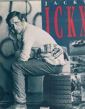 Jacky Ickx - Mes souvenirs noirs et blancs 1991 1st Edition HC BOOK