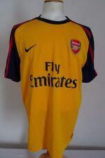 Maglie da calcio di squadre internazionali giallo Nike lunghezza manica manica corta