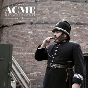 ANTIQUE BRASS ACME Metropolitan Police Whistle WW1 1914 War Trench Infantry