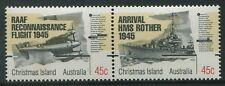 50th ANNIVERSARY END OF WWII 1995 - MNH SE-TENANT PAIR (BL352-RR)