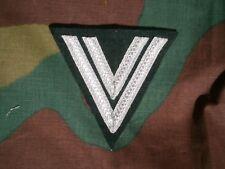 Grado da braccio obergefreiter M36 feldbluse, German sleeve rank Wehrmacht tress