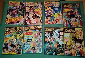 Album magazine Club Dorothée N° 1 a 8 _ 400 pages- COMPLET poster gros lot dbz