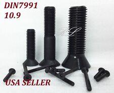 DIN7991 M20x30 BLACK ALLOY CLASS 10.9 HEX SOCKET COUNTERSUNK HEAD SCREWS QTY 1