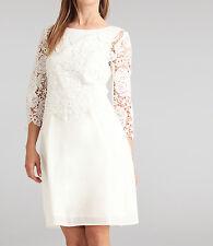 APART Brautkleid Standesamt Spitzenkleid Damenkleid Hochzeit creme 46019 77