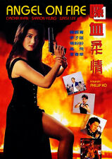 ANGEL ON FIRE (1993) Cynthia Khan is Fighting Diva NTSC New DVD w/English subs