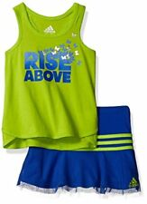 Genuine Adidas Baby Girl's Toddler Top and Skort Skirt Set Size 18 months AG4094