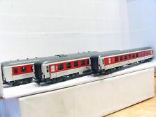 L.S. Models H0 49054 3er Set City Night Line Liege- / Sitzwagen DB OVP (MR7077)