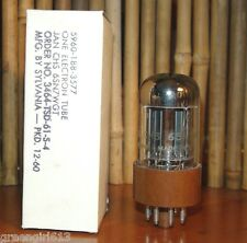 Sylvania JAN CHS 6SN7 WGT Vacuum Tube Very Nice V Strong & Bal  2975/2965 µmhos