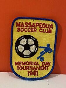 Massapequa Soccer Club Patch Memorial Day Tournament 1981