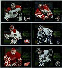 1997-98 DONRUSS BETWEEN THE PIPES INSERT CARDS - PICK SINGLES - FINISH SET /3500