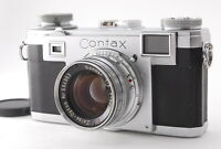 EXC+++++ Contax IIa Rangefinder Camera RF Zeiss Opton Sonnar 50mm f/2 from Japan