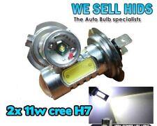 2X H7 Cree 11 W Haute Puissance Flash Feu De Brouillard Blanc Plasma S/N 6000K AUDI a6 q7 a3