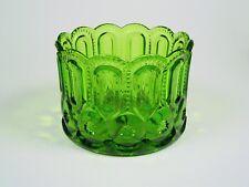 L.E. Smith Glass - VERY RARE - 6 inch - Emerald Green Jardinaire Planter
