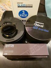 Samsung Gear S3 frontier 46mm Bluetooth Smartwatch + extras!