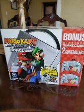 Nintendo Gamecube Platinum System Mario Kart Double Dash Bundle NEW