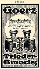 Optische Anstalt C.P.Goerz Berlin-Friedenau Neue Modelle Ad 1910